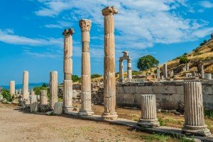 Ephesus ancient greek ruins in Anatolia Turkey Sekoya Health